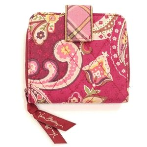 Vera Bradley PICCADILLY PLUM Wallet - Retired Pink